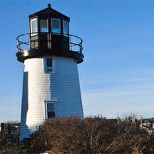 Lighthouse by Hyannis Beach