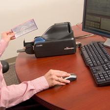 Remote deposit scanner