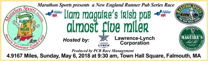Liam Maguire's Irish Pub Almost 5 Miler