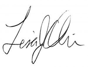 Lisa Oliver's signature