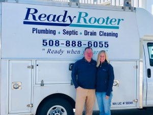 Susan and Kevin Sullivan, owners of Ready Rooter