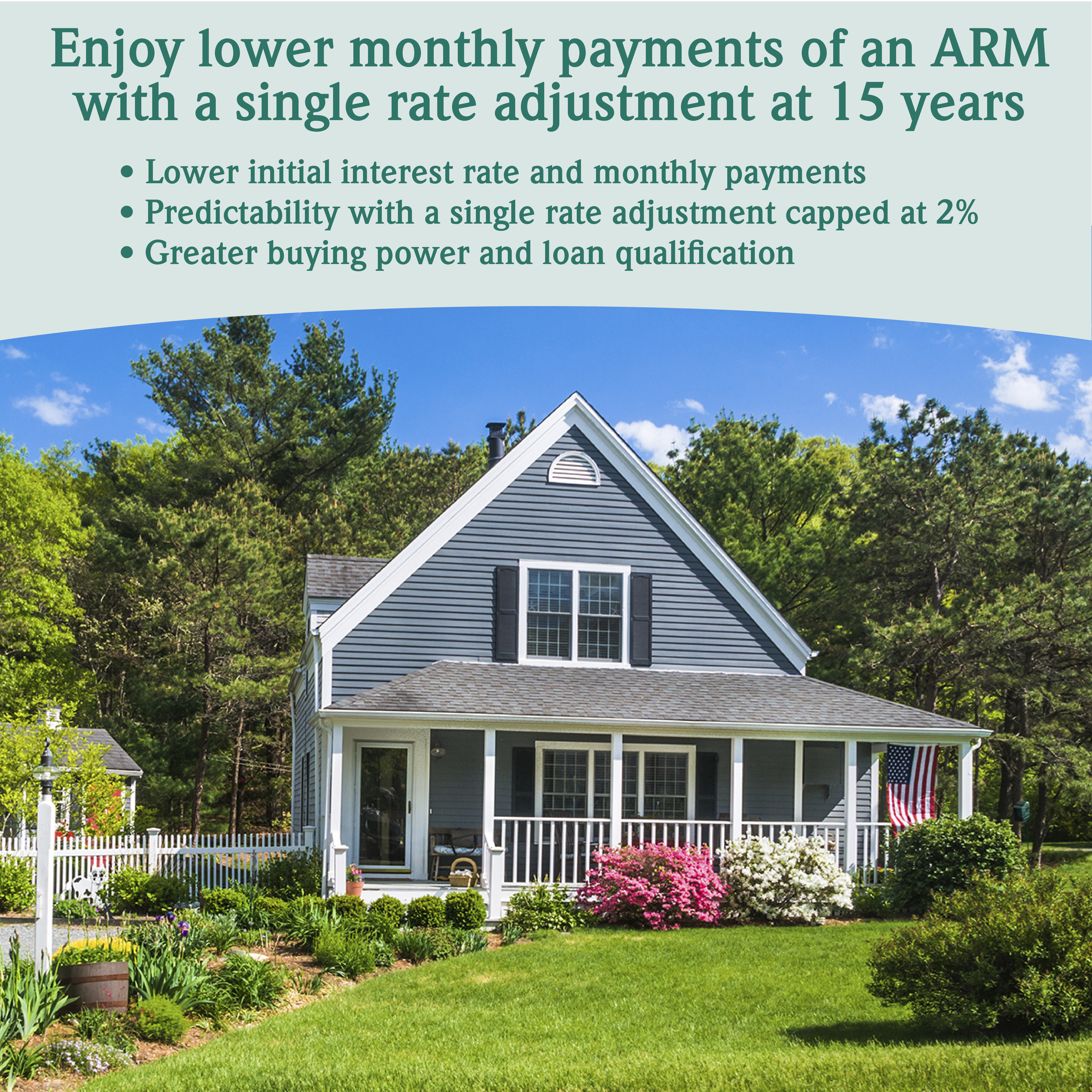 15/15 ARM mortgage from The Coop