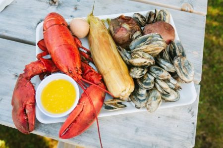 Osterville Village Library Clambake