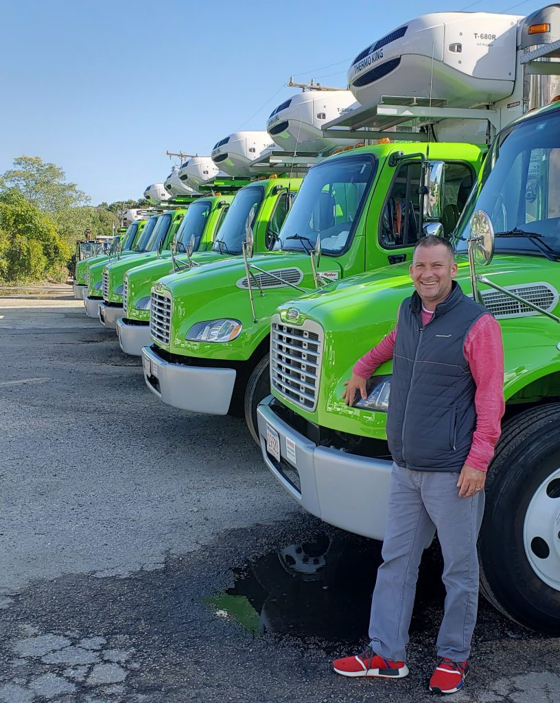 Adam Weiner, President of Guaranteed Fresh Produce in Hyannis