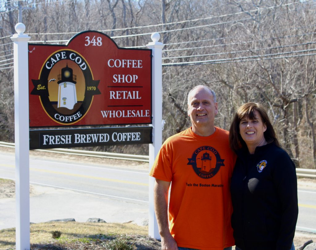 Jan and Pamela of Cape Cod Coffee