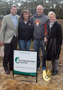 Groundbreaking at Cape Cod Coffee in Mashpee