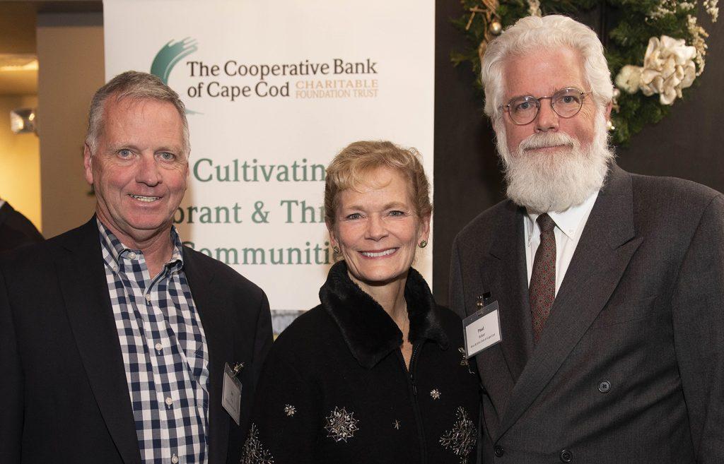 Left, Jim Kiley, President, Boys & Girls Club of Cape Cod; Right, Paul Bober, Member of the Board of Directors, Boys & Girls Club of Cape Cod.