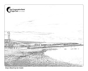 Grays Beach coloring page