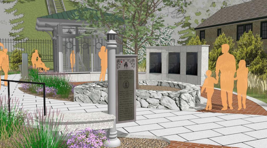 mockup illustration of future Provincetown Monument plans