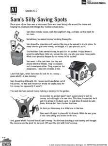 Sam Silly Saving Spots