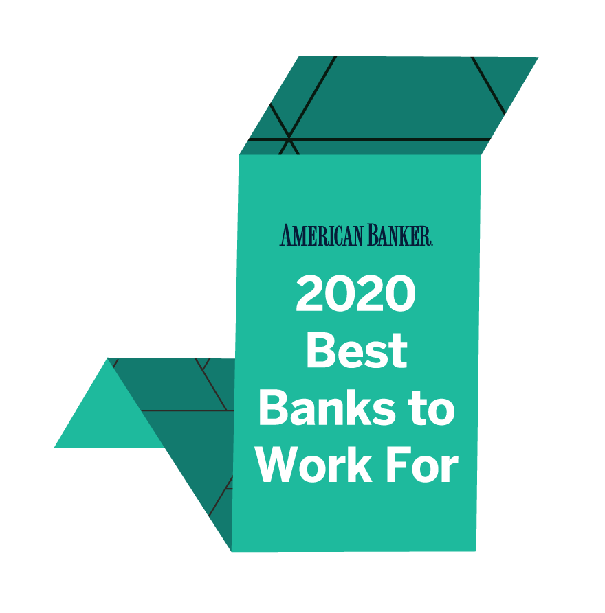 Voted Best Banks to Work For in 2020
