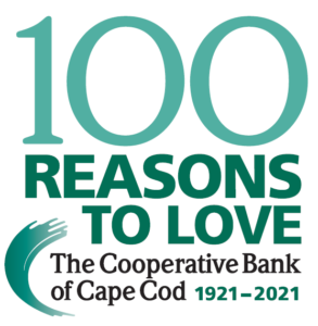 Logo - 100 Reasons to Love The Cooperative Bank of Cape Cod 1921-2021