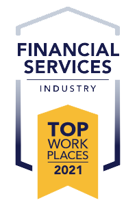 Voted Top Financial Services Workplaces 2021