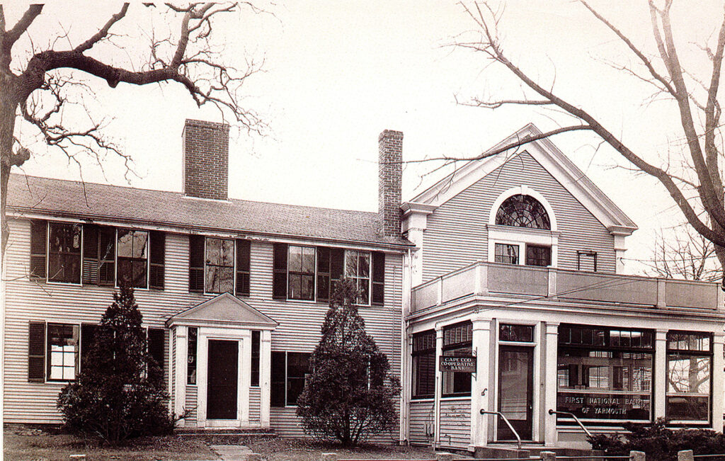 First National Bank of Yarmouth w/Cape Cod Cooperative Bank office