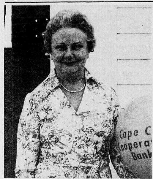 Harriett G. Chase of Hyannis assistant treasurer