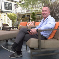 Image of Thomas Walter at the Crowne Pointe Hotel and Spa in Provincetown, Massachusetts