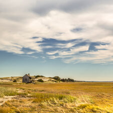 Image of a home on a marsh in Cape Cod