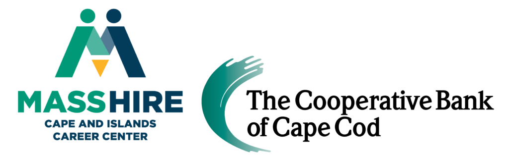 MassHire and The Cooperative Bank of Cape Cod logos